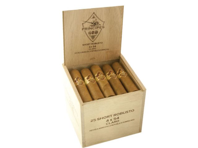 10163 - Principes Claro Short Robusto 25 πούρα