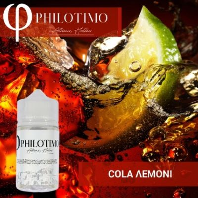 PHILOTIMO COLA ΛΕΜΟΝΙ 30/75ml