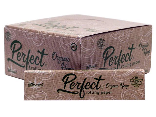 10236 - Χαρτάκια στριφτού Perfect King Size Organic Hemp (κουτί των 50)