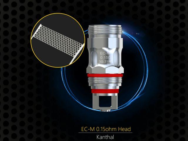 Eleaf EC-M COILS 0.15ohm για MELO 4 & MELO 5 (5 αντιστάσεις)