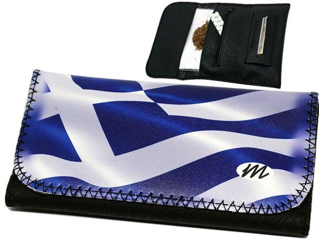 MONTE 0116 ROXY GREEK FLAG ΚΑΠΝΟΘΗΚΗ
