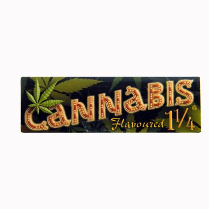 703 - Χαρτάκι Cannabis flavored 1 1/4, 32 φύλλα