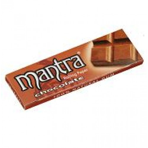 710 - Χαρτάκι 1 και 1/4 MANTRA ΣΟΚΟΛΑΤΑ made in Spain, 50τεμ