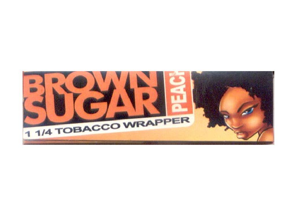 Χαρτάκια πουρόφυλλα 1 και 1/4 Brown Sugar Peach (Ροδάκινο)