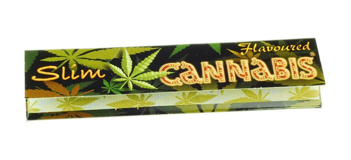 Xαρτάκι Cannabies flavoured KIng size slim, 32 φύλλα το χαρτάκι