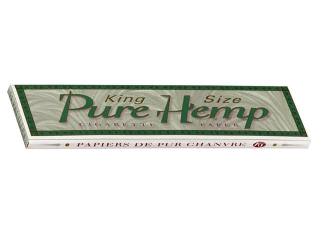 774 - Χαρτάκι Pure Hemp King Size, 33 φύλλα