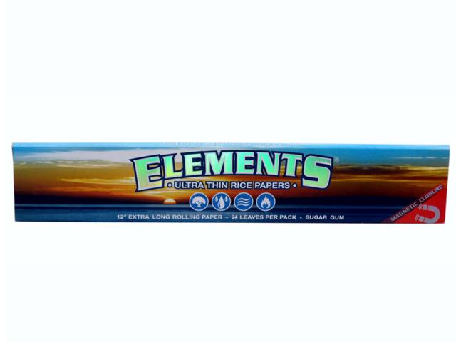 777 - Χαρτάκι ELEMENTS FOOT LONG, extra long, 24 φύλλα