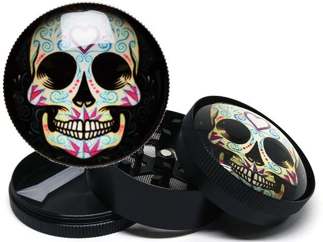 Τρίφτης καπνού Metal Grinder 3D 52mm 3Parts 0212516 F