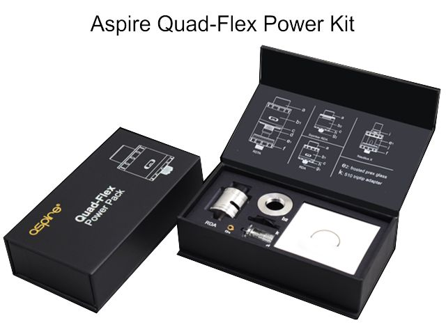 10361 - QUAD FLEX Power Kit by Aspire