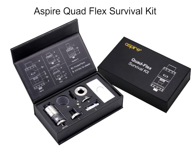 10362 - QUAD FLEX Survival Kit by Aspire