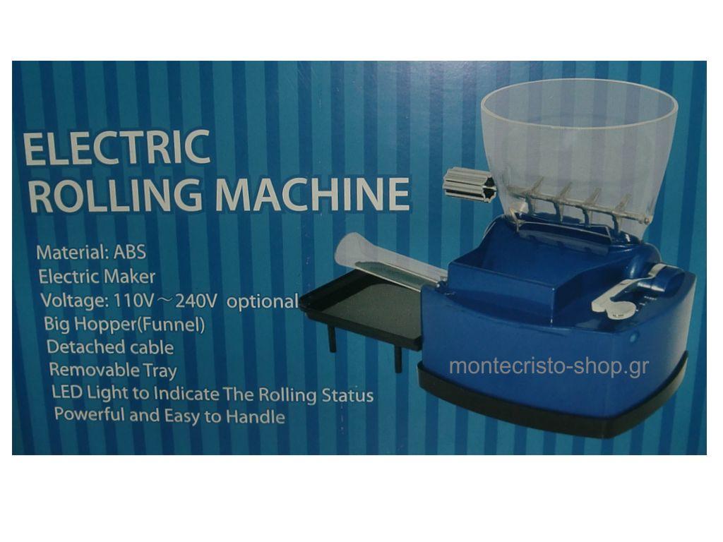 """Μηχανή για άδεια τσιγάρα 79 """"ELECTRIC ROLLING MACHINE"""" (47306-430)"""