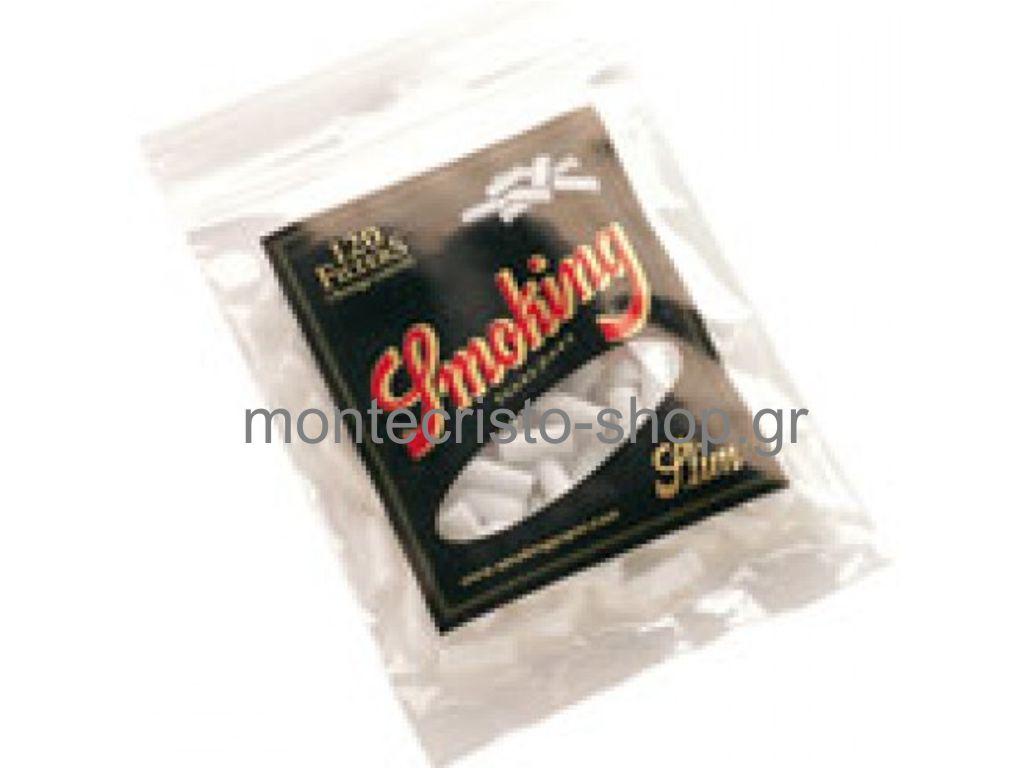 1157 - Φίλτρα Smoking DeLuxe SLIM 6mm easy rolling