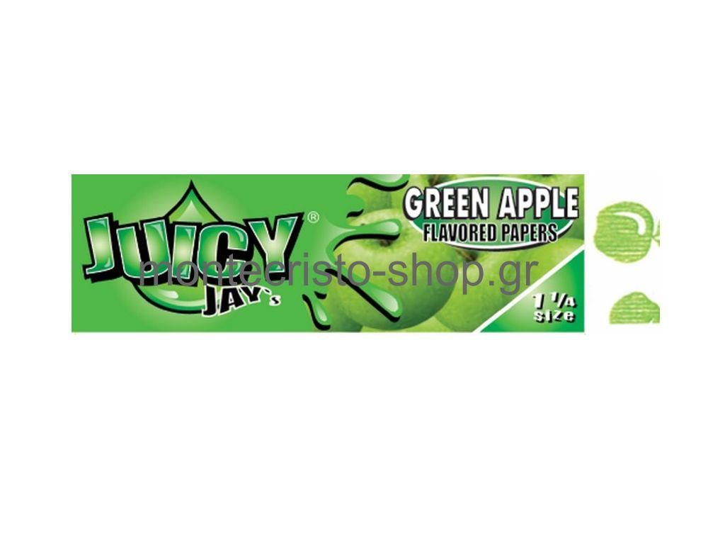 838 - Juicy Jays Green Apple πράσινο μήλο 1 1/4 μεσαίο ΄μέγεθος