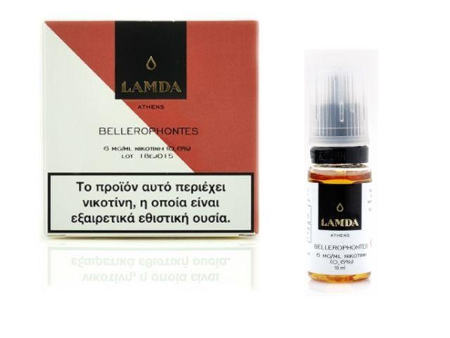10452 - Υγρό αναπλήρωσης LAMDA BELLEROPHONTES 3*10ml (βάφλα, κρέμα βανίλια, κανέλα Κεϊλάνης)