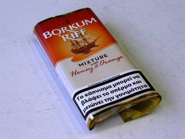 933 - BORKUM RIFF ORANGE (HONEY & ORANGE) 40g