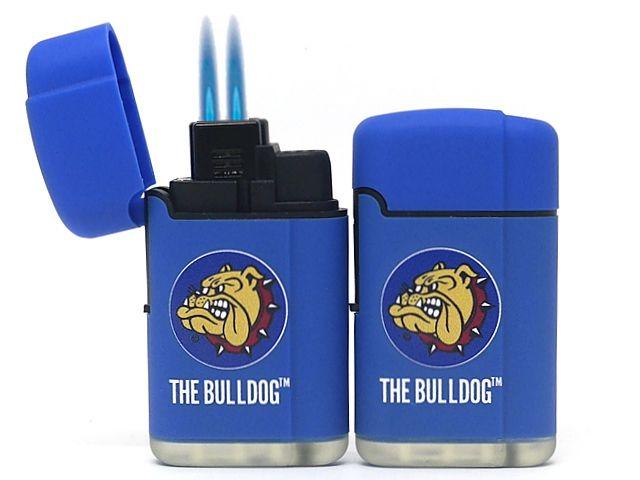 Αντιανεμικός αναπτήρας THE BULLDOG DOUBLE LASER JET SM0091 BLUE