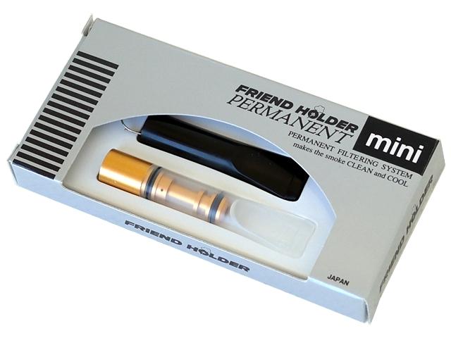 988 - Πίπα για τσιγάρο Friend Holder PERMANENT Mini PM-5 8mm αυτοκαθαριζόμενη χωρίς ανταλλακτικό (made in Japan)