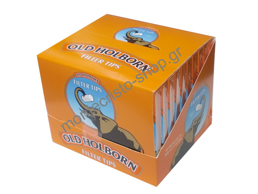 Φιλτράκια Old Holborn 5,7mm extra slim, κουτί 20 τεμαχίων