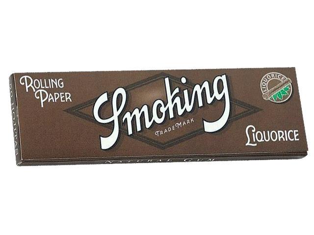 1070 - Χαρτάκια Smoking Liquorice γλυκόριζα 50 φύλλα