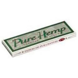 1076 - Χαρτάκι Pure Hemp 1 και 1/4 μεσαίο, 50 φύλλα