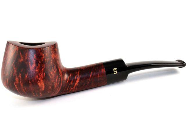 10551 - Stanwell Silkebrun 11 Brown πίπα καπνού ημίκυρτη 9mm