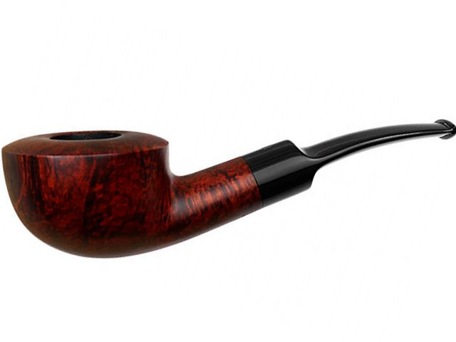 10557 - Stanwell Silkebrun 95 Brown πίπα καπνού κυρτή 9mm