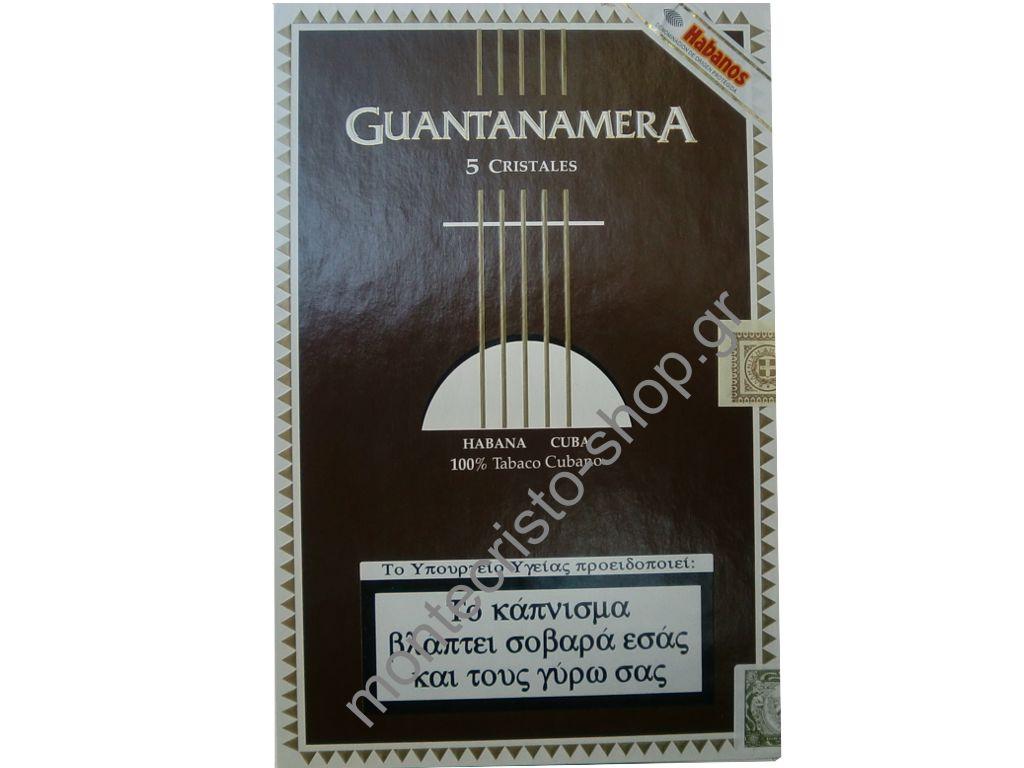 Guantanamera CRISTALES 25s χειροποίητο