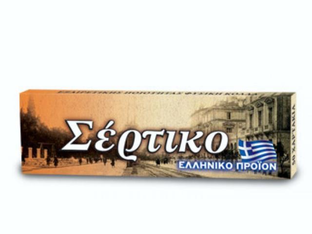 Ελληνικό τσιγαρόχαρτο Σέρτικο πορτοκαλί, μεσαίο πάχος φύλλα 50