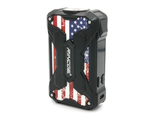 10596 - Mechman Box AMERICAN 228W Steel Wings (2*18650) by Rincoe