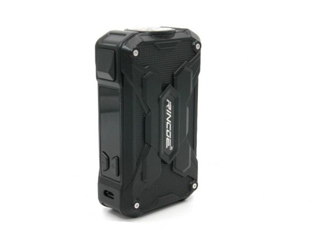10597 - Mechman Box FULL BLACK 228W Steel Wings (2*18650) by Rincoe