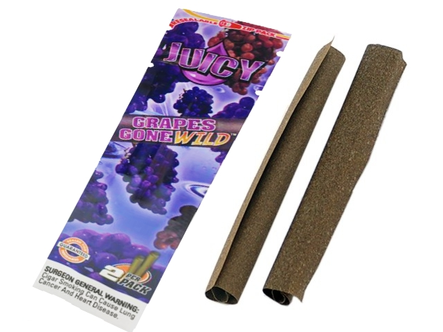 1240 - Πουρόφυλλα Juicy Jays BLUNTS Grapes Gone Wild