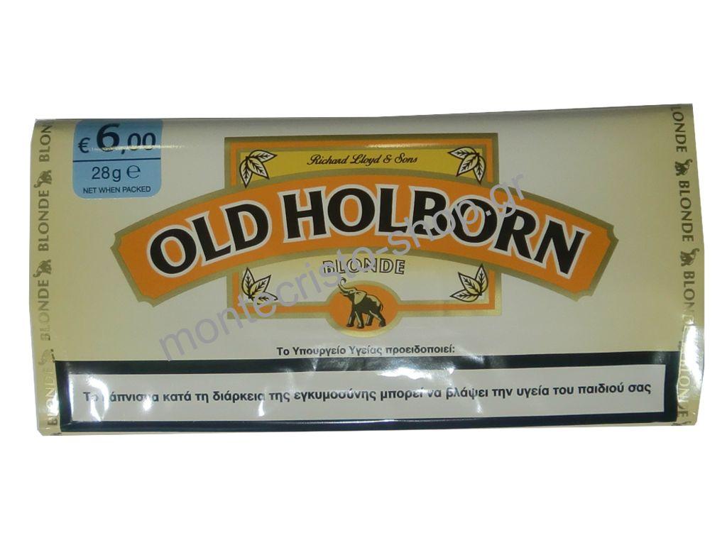 Kαπνός στριφτού Old Holborn Blonde 30γρ