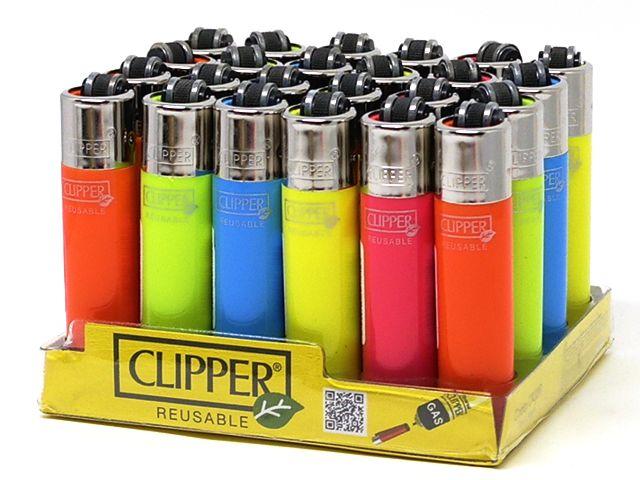 CLIPPER FLUO ASSOS SMALL αναπτήρας 925283 (κουτί των 24)