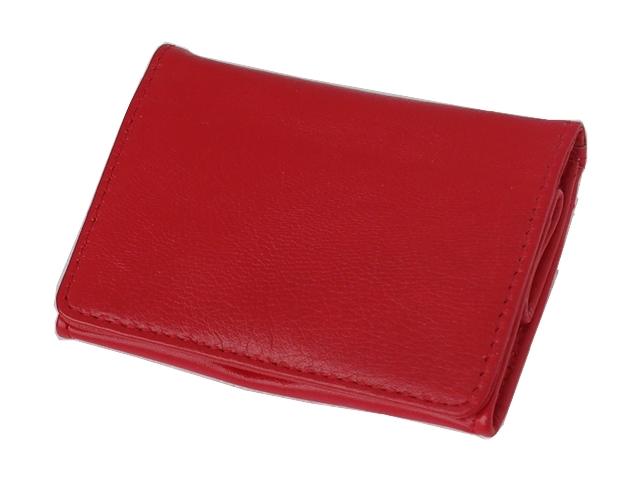 1335 - Καπνοσακούλα Rolling 44410-165 από γνήσιο δέρμα (κόκκινο μικρό πουγκί)