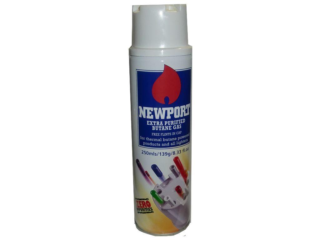 1445 - Αέριο αναπτήρων NEWPORT 250ml made in England