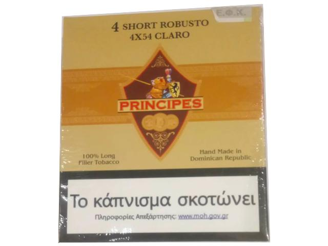10693 - Principes Claro Short Robusto 4 πούρα