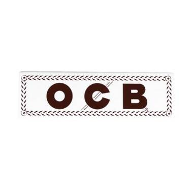 1461 - Χαρτάκια OCB άσπρο white κανονικό προς λεπτό 50 φύλλα