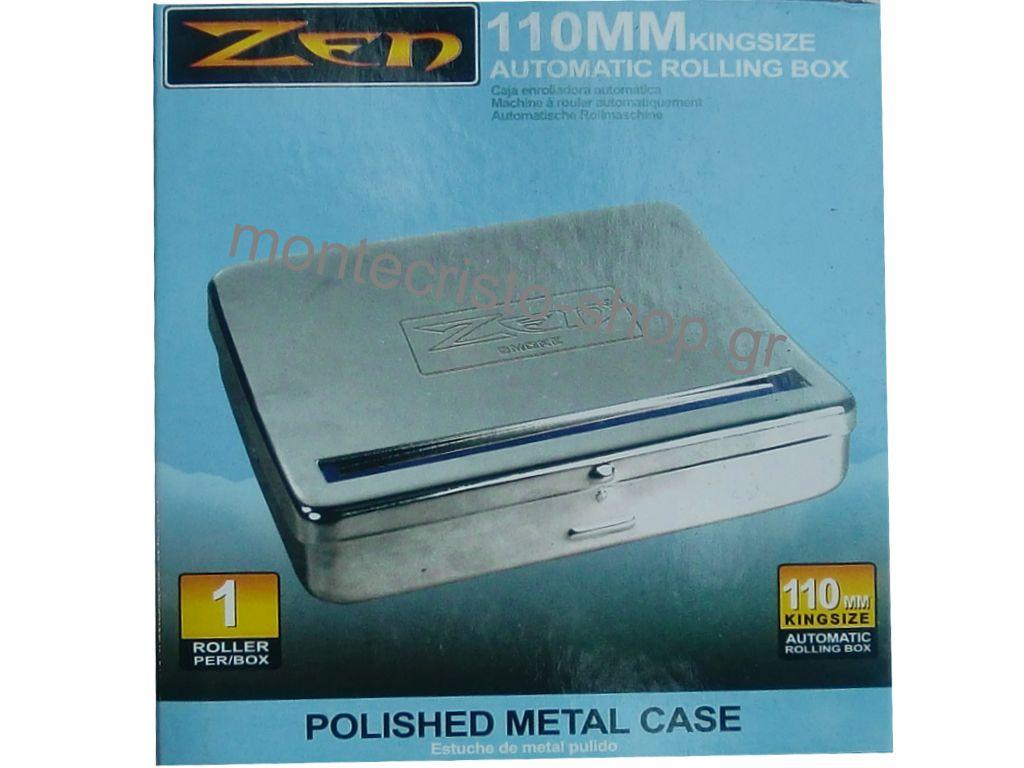 Ταμπακιέρα στριφτού ZEN 110mm για king size τσιγαρόχαρτα