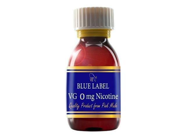 10769 - Βάση PINK MULE BLUE LABEL 0% νικοτίνη 100%VG 100ml