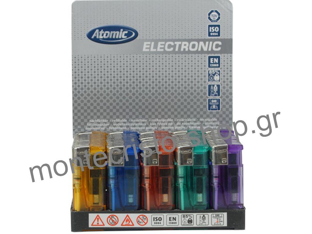 Σετ με 50 αναπτήρες ATOMIC MIDI Flat μικρός που ανάβει ηλεκτρ. 0,199 ο ένας