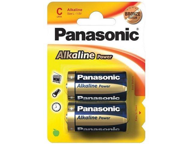 PANASONIC C ΑΛΚΑΛΙΚΕΣ LR14 1.5V AM2 MN1400 (2 ΜΠΑΤΑΡΙΕΣ)