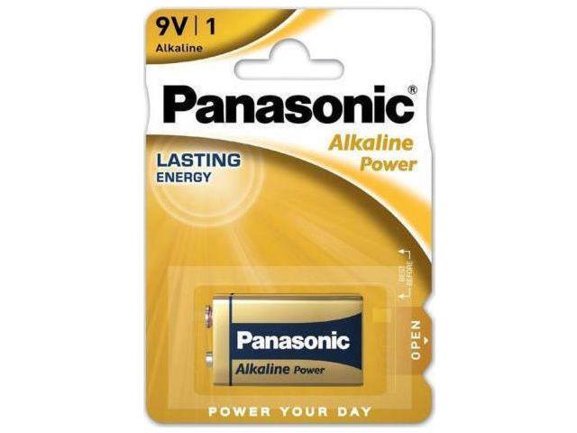 PANASONIC 9V ΑΛΚΑΛΙΚΗ 6LF22 9V MN1604 (1 ΜΠΑΤΑΡΙΑ)
