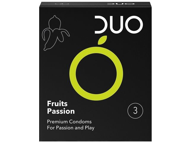 10875 - DUO FRUITS PASSION ΜΕ ΑΡΩΜΑ ΦΡΟΥΤΩΝ (3 ΠΡΟΦΥΛΑΚΤΙΚΑ)