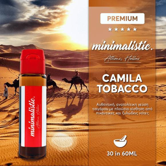 10892 - MINIMALISTIC CAMILA TOBACCO Shake And Vape 30/60ml (ΚΑΠΝΙΚΟ)