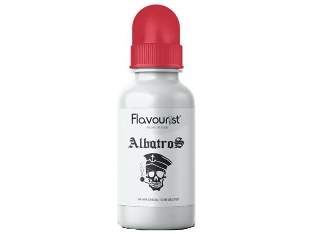 10914 - Άρωμα FLAVOURIST ALBATROS 15ml (καπνός πίπας με βανίλια)