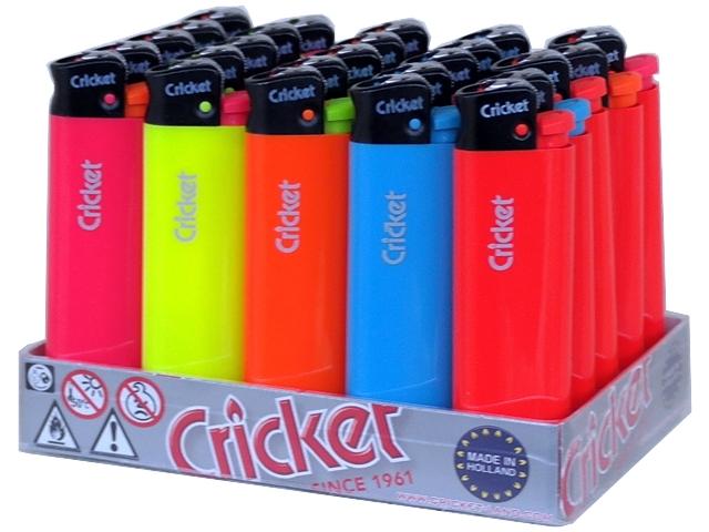 1674 - Κουτί με 25 αναπτήρες Cricket original Fluo Greece lb μεγάλος 21125135