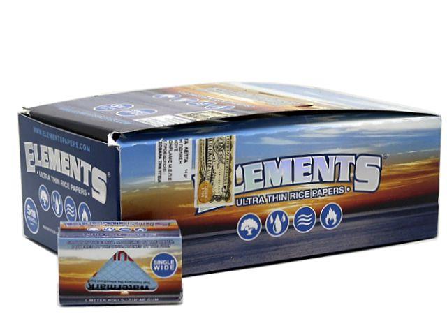 10930 - ΡΟΛΟ ELEMENTS SINGLE WIDE ULTRA THIN (40mm x 5 μέτρα) κουτί των 24