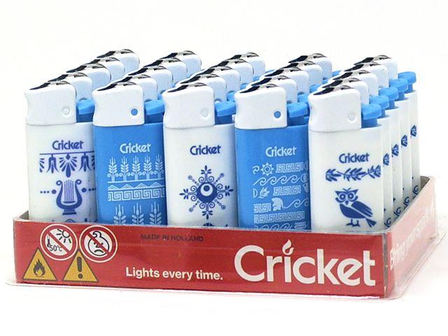 10986 - Αναπτήρας Cricket Greek Language Mini 22125309 (κουτί των 25)