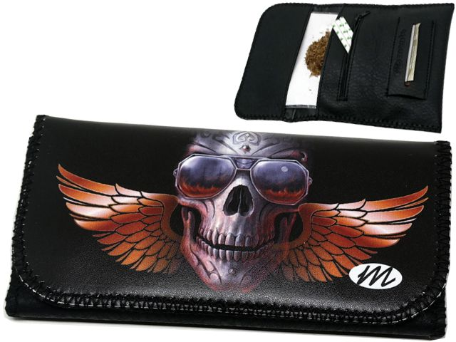 11010 - MONTE 0222 WINGS SKULL ROXY ΚΑΠΝΟΘΗΚΗ