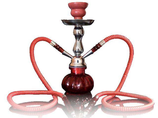 Ναργιλές Hookah διπλός 26cm MADO 665-5337 RED